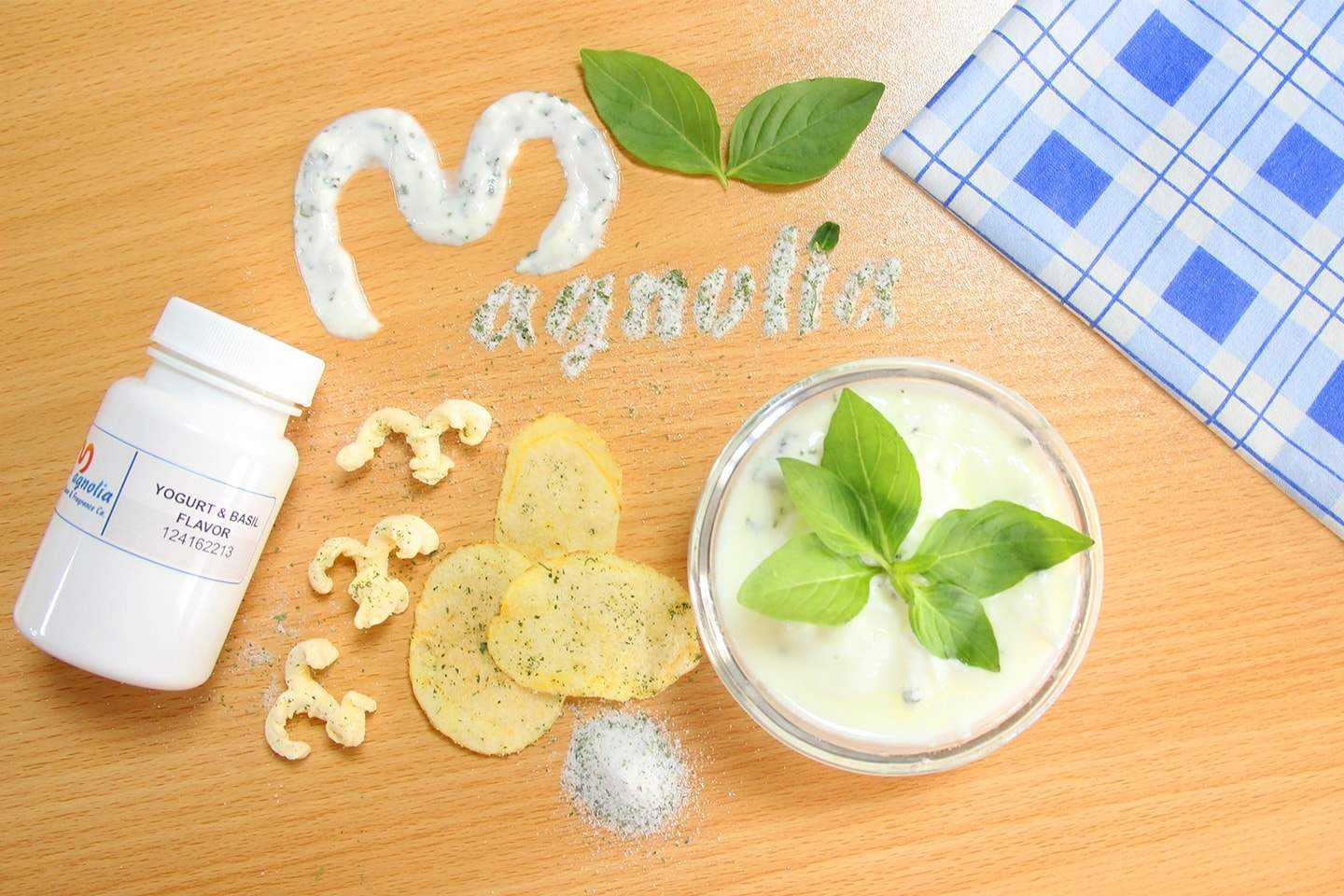 Yogurt and Basil flavor: A new product from Magnolia Flavor and Fragrance Co