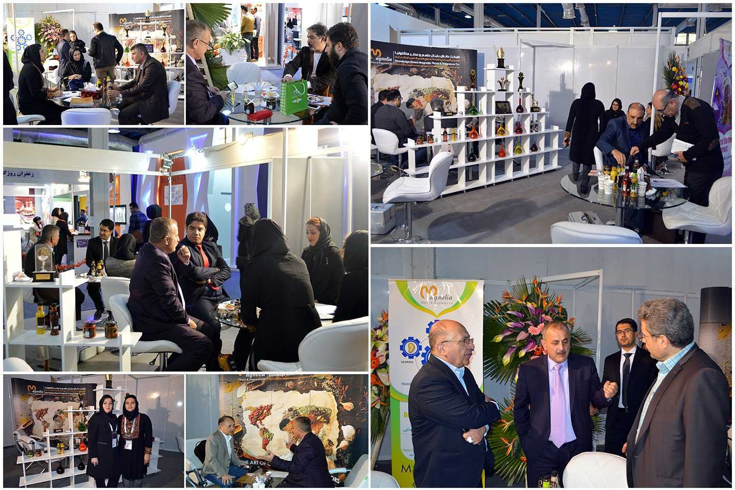 Magnolia presence in 2nd Iran international MeatEx exhibition in Tehran
