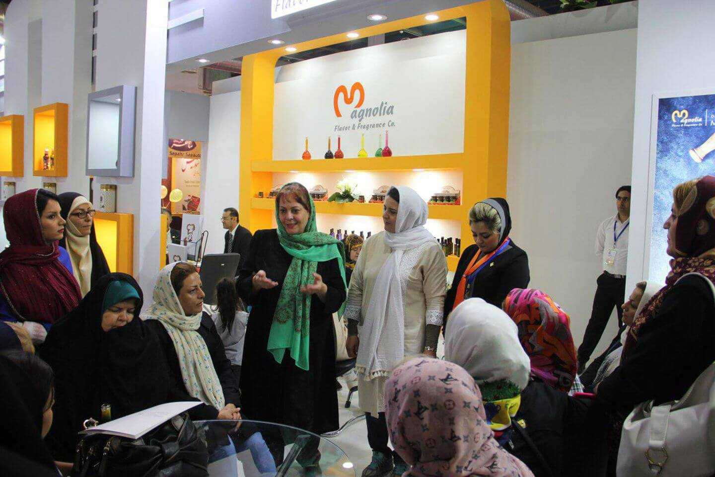 Magnolia presence in 24th Iran international Agrofood exhibition in Tehran
